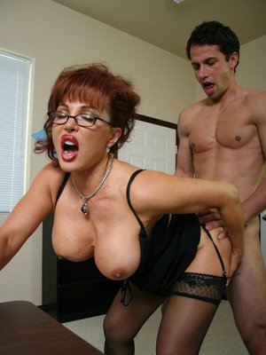 Really. mature mom big tits glasses have